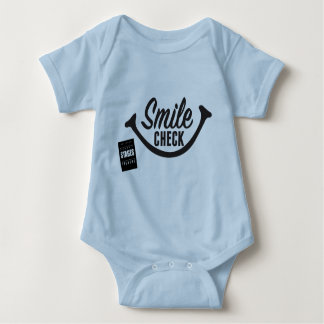 Smile Check Baby Baby Bodysuit