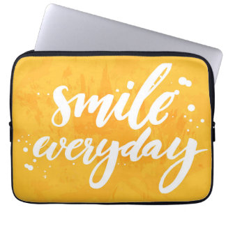 Smile Everyday Laptop Sleeve