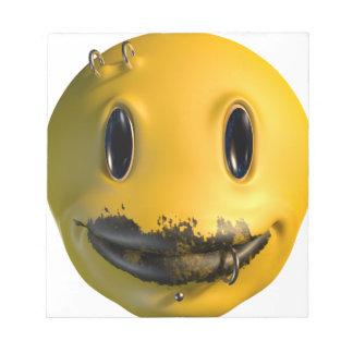 smile freak notepad
