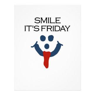 Smile It's Friday 21.5 Cm X 28 Cm Flyer
