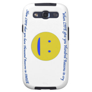 Smile to life galaxy SIII cases