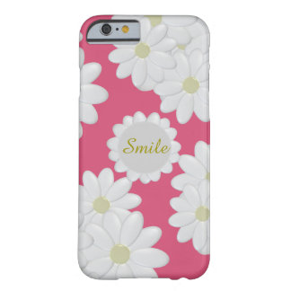 Smile White Daisy Customisable iPhone 6/6s Case Barely There iPhone 6 Case