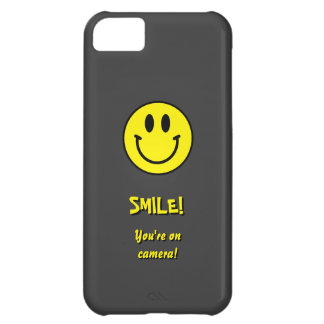 Smile! You're on camera! iPhone 5C Case