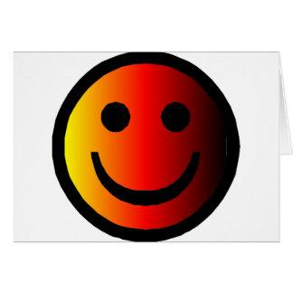 Smiley 4 card