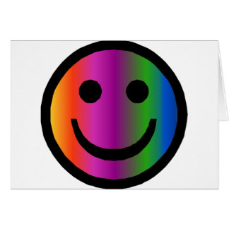 Smiley 8 card