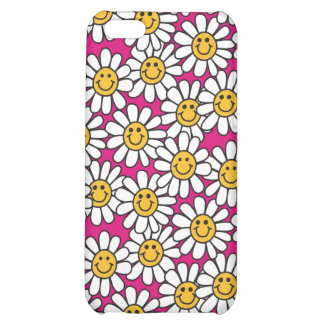 Smiley Daisy Flowers Pattern Pink Yellow iPhone 5C Covers