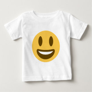Smiley Emoji Twitter Baby T-Shirt