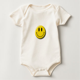 Smiley Face Baby Outfit Baby Bodysuit