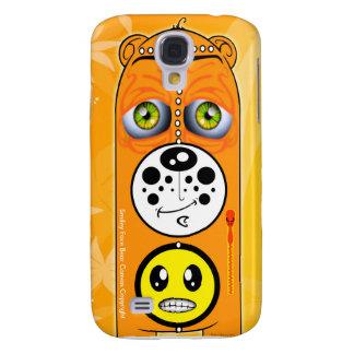 Smiley Face Bear Canvas Smartphone Cases