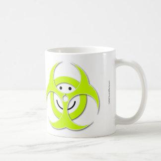 Smiley Face Biohazard Mug