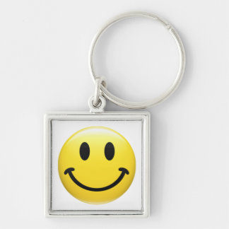 SMILEY FACE - HAVE A NICE DAY - Cool 1970's Icon Key Chains