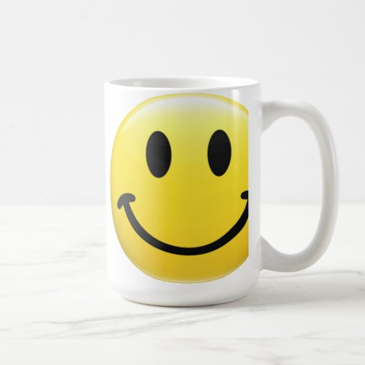 SMILEY FACE - HAVE A NICE DAY - Cool 1970's Icon Coffee Mugs