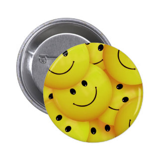 Smiley Faces Everywhere Pinback Button