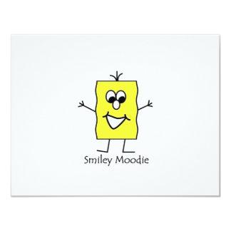 Smiley Moodie Card