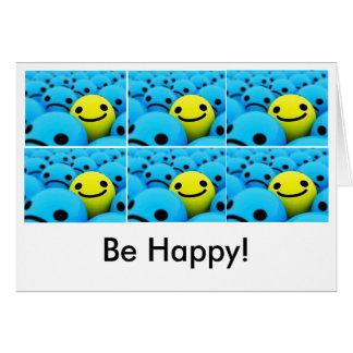 smiley, smiley, smiley, smiley, smiley, smiley,... card