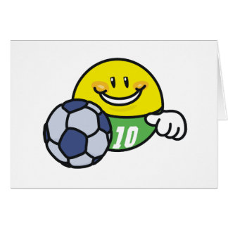 Smiley Soccer Card