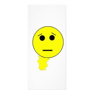 Smiley's Shame Rack Card Template