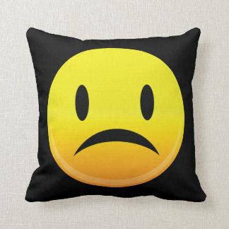 Smilie Face Sad Cushion