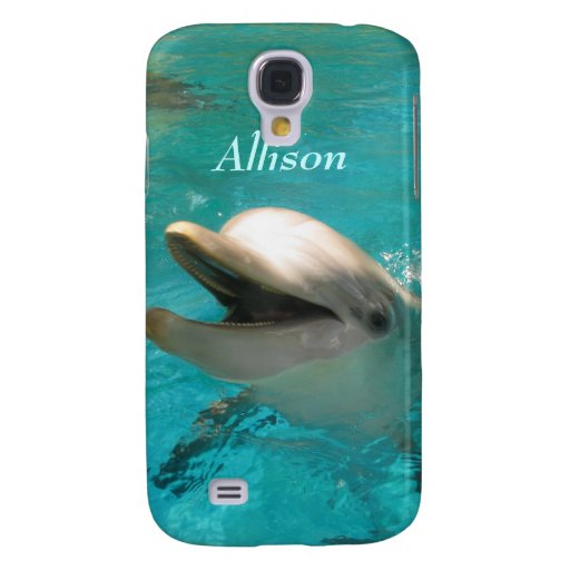 Smiling Dolphin Samsung Galaxy S4 Cover