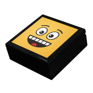 Smiling Face with Open Mouth Gift Box