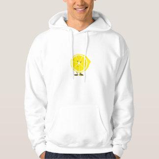 Smiling half lemon hoodie
