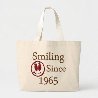 Smiling Large Tote Bag
