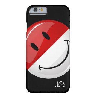 Smiling Monaco Flag Barely There iPhone 6 Case