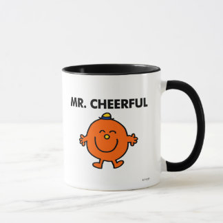 Smiling Mr. Cheerful Mug