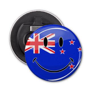 Smiling New Zealand Flag