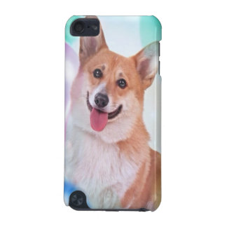 Smiling Pembroke Welsh Corgi dog iPod Touch (5th Generation) Covers