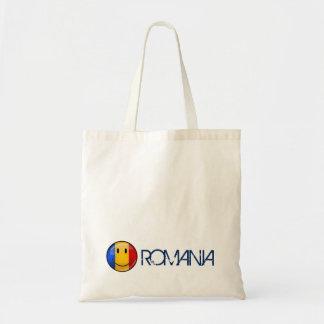 Smiling Romanian Flag Tote Bag