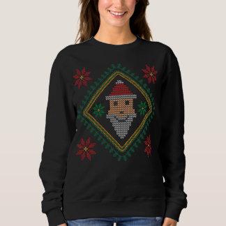 Smiling Santa Claus Holiday Christmas Sweater