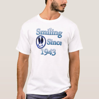 Smiling Since 1943 T-Shirt