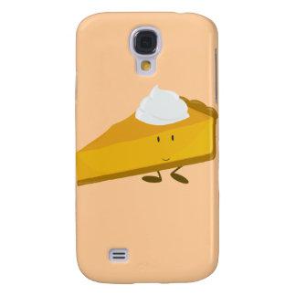 Smiling slice of pumpkin pie galaxy s4 case