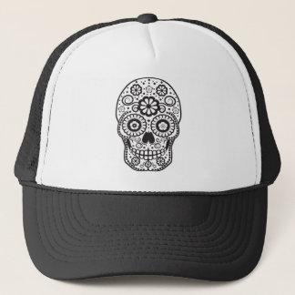 Smiling Sugar Skull Trucker Hat
