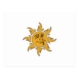 Smiling Sun Postcard