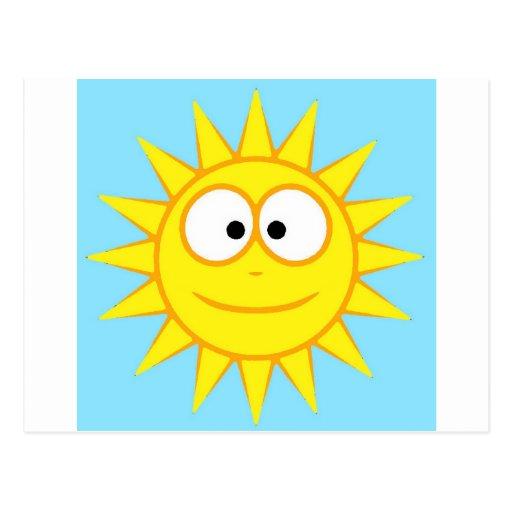 Smiling sun - Smiling Sun Postcard