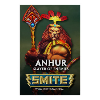 SMITE: Anhur, Slayer of Enemies Poster