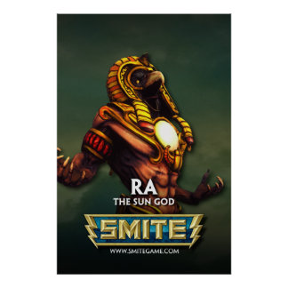 SMITE: Ra, The Sun God Poster