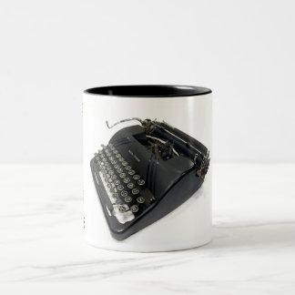 Smith-Corona 4S typewriter Two-Tone Mug