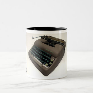 Smith-Corona 5A Sterling typewriter Two-Tone Coffee Mug