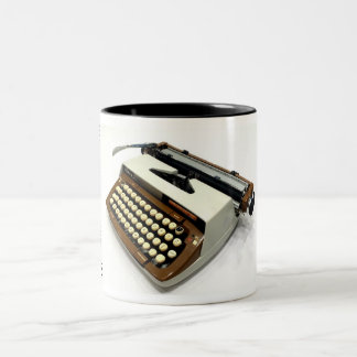Smith-Corona Classic 12 typewriter Two-Tone Mug