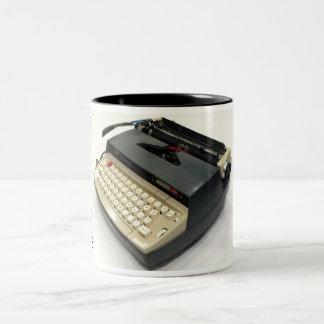 Smith-Corona Electra 110 typewriter Two-Tone Coffee Mug