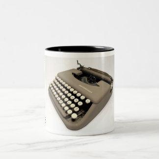Smith-Corona Skyriter typewriter - 1956 Two-Tone Coffee Mug