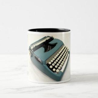 Smith-Corona Sterling typewriter - 1960 Two-Tone Coffee Mug