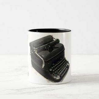 Smith-Corona Super Speed typewriter Two-Tone Coffee Mug