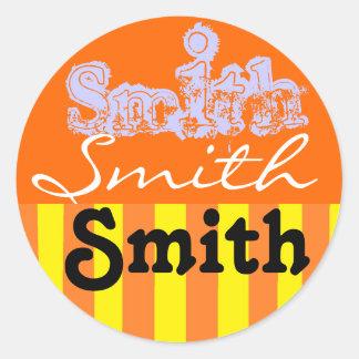 Smith Family name stickers