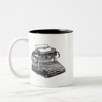 Smith Premier No. 2 Typewriter Two-Tone Mug