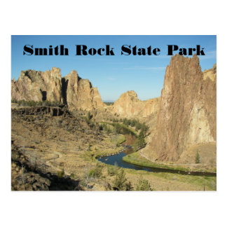 Smith Rock State Park Travel Photo Postcard