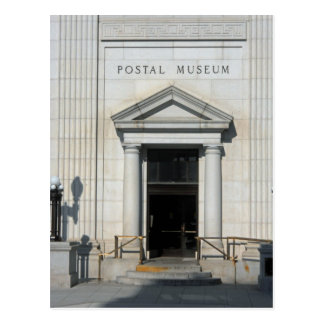 Smithsonian National Postal Museum Postcard